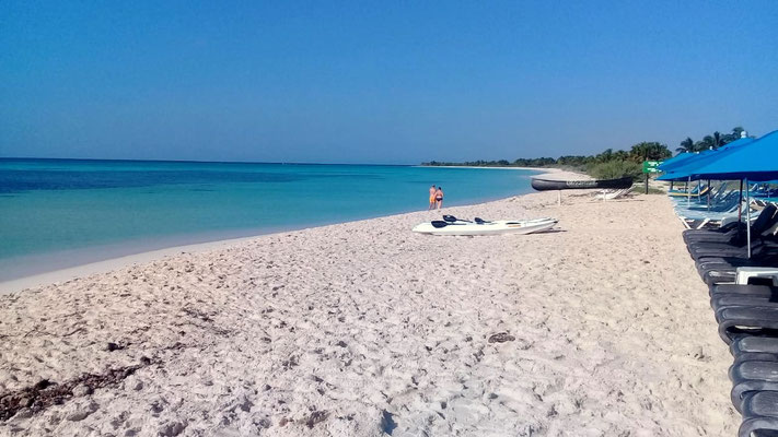 Cozumel Strand auf eigene Faust