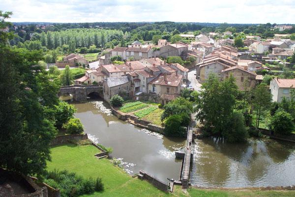 Cité médiévale de Parthenay en Gâtine