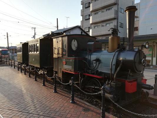 松山市・坊っちゃん列車写真画像