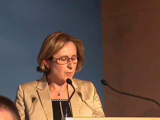 Madame Hermeline MALHERBE, Sénatrice des Pyrénées Orientales