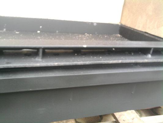 Wkład kominkowy narożny z dołączanym wymiennikiem wodnym