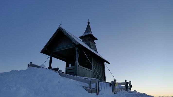 Gipfelkapelle 2.344m