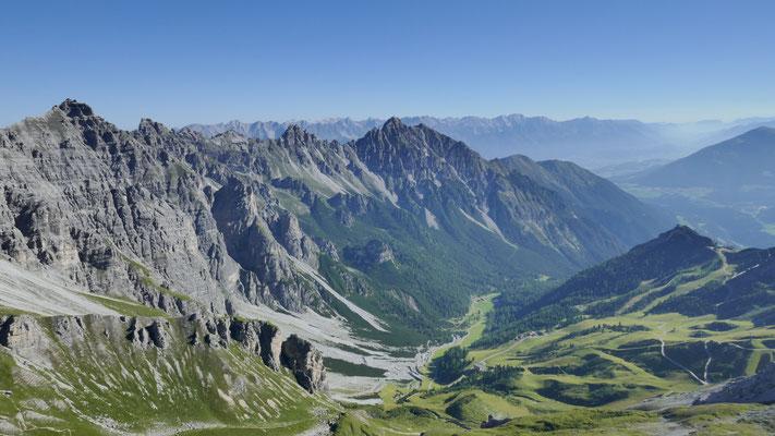 Richtung Innsbruck