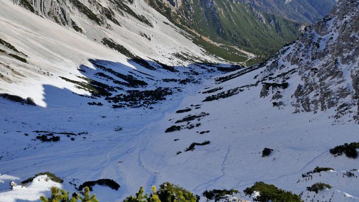 Schnee im Alpl