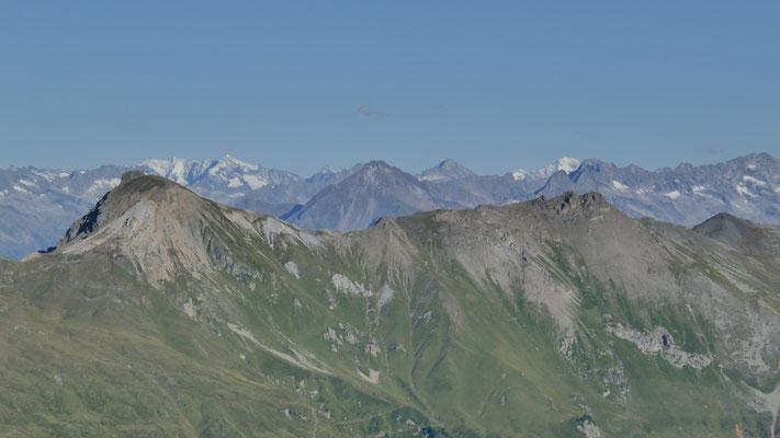Hippold-& Eiskarspitze vor Zillertaler