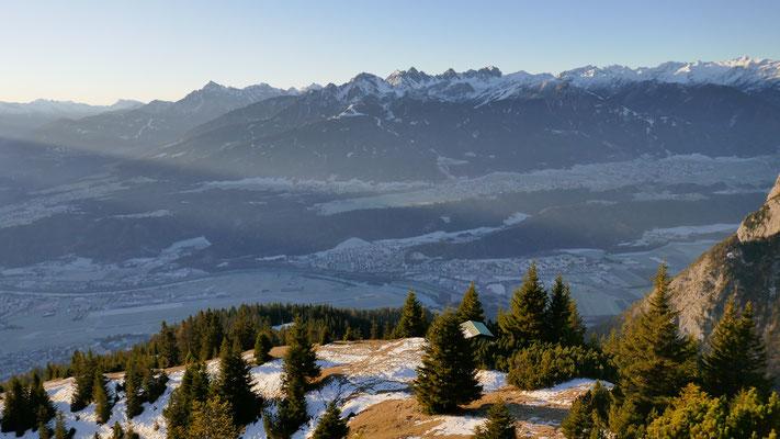 Jagdhütte auf 1.730m