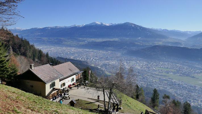 Rauschbrunnen und retour nach Innsbruck