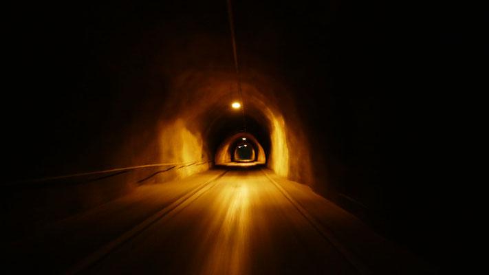 Tunnel Forchach und retour nach Neustift