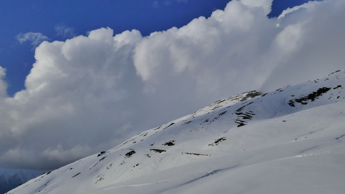 Wolken über dem Metzen