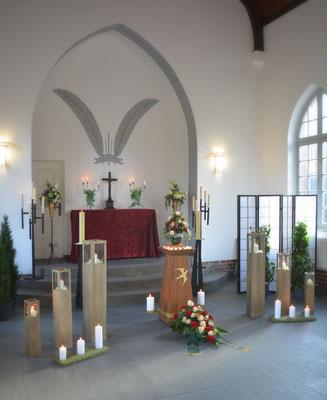 Trauerfeier in der Trauerhalle Eberswalde-Finow
