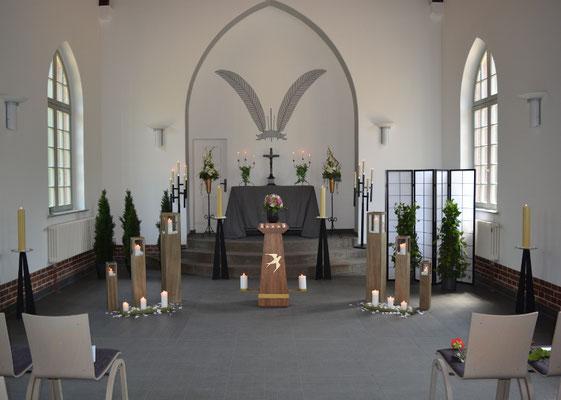 Stille Abschiednahme in der Trauerhalle Eberswalde-Finow