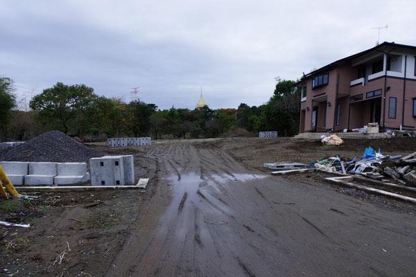 車庫と納屋が押し流されました