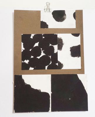 Sasha Pichushkin, CollageXVII, 20 x 30 cm, Galerie SEHR Koblenz