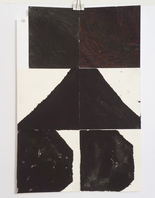 Sasha Pichushkin, Collage XXX, 20 x 30 cm, Galerie SEHR Koblenz