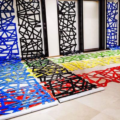 Santhe Hauser Installation