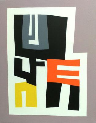 Antropo, Acryl auf Leinwand70 x 100cm