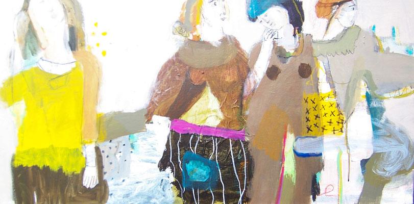 Evelyn Knobling in der Galerie SEHR 2014