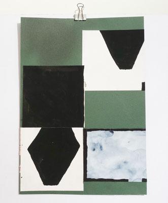 Sasha Pichushkin, Collage XVI, 20 x 30 cm, Galerie SEHR Koblenz