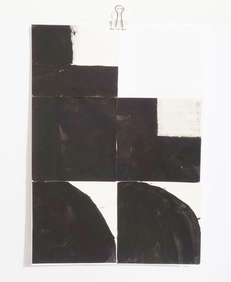 Sasha Pichushkin, Collage III, 20 x 30 cm, Galerie SEHR Koblenz