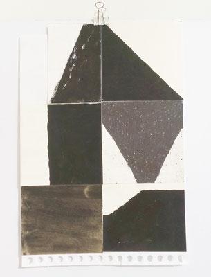 Sasha Pichushkin, Collage VI, 20 x 30 cm, Galerie SEHR Koblenz