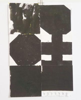 Sasha Pichushkin, Collage XXVIII, 20 x 30 cm, Galerie SEHR Koblenz