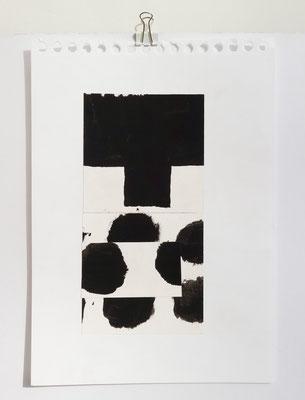 Sasha Pichushkin, Collage XXI, 20 x 30 cm, Galerie SEHR Koblenz