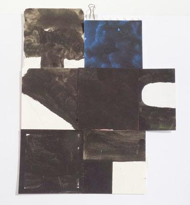 Sasha Pichushkin, Collage XV, 20 x 30 cm, Galerie SEHR Koblenz
