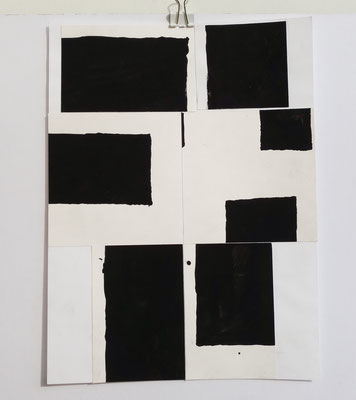 Sasha Pichushkin, Collage XXVII, 20 x 30 cm, Galerie SEHR Koblenz