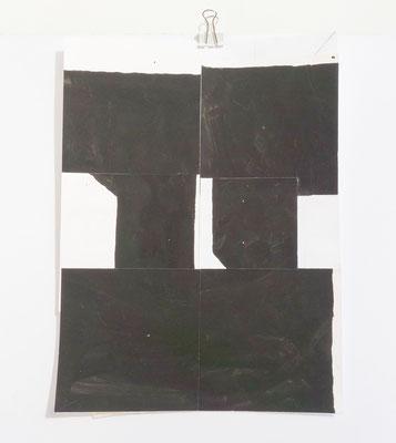 Sasha Pichushkin, Collage X, 20 x 30 cm, Galerie SEHR Koblenz