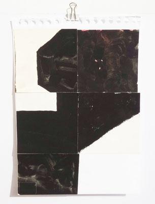 Sasha Pichushkin, Collage II, 20 x 30 cm, Galerie SEHR Koblenz