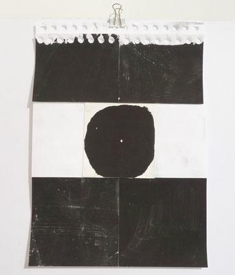 Sasha Pichushkin, Collage IX, 20 x 30 cm, Galerie SEHR Koblenz
