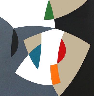 Septembre 2016, Acryl auf Leinwand, 80 x 80 cm