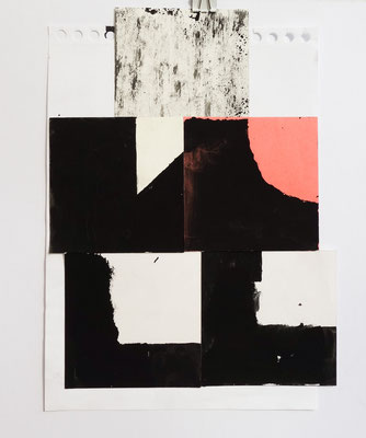 Sasha Pichushkin, Collage XXXI, 20 x 30 cm, Galerie SEHR Koblenz