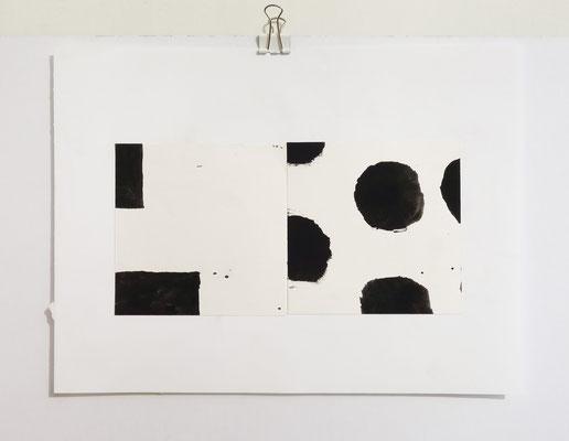 Sasha Pichushkin, Collage XX , 20 x 30 cm, Galerie SEHR Koblenz