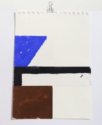 Sasha Pichushkin, Collage XIV, 20 x 30 cm, Galerie SEHR Koblenz