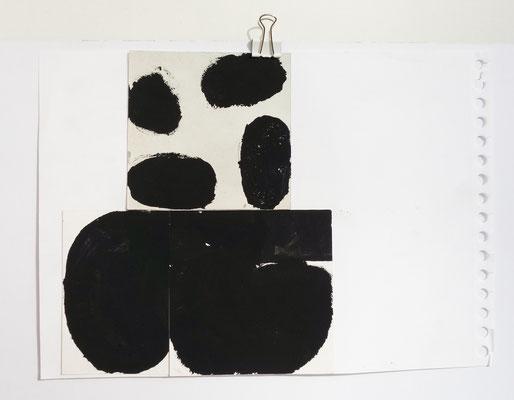 Sasha Pichushkin, Collage XXIII, 20 x 30 cm, Galerie SEHR Koblenz