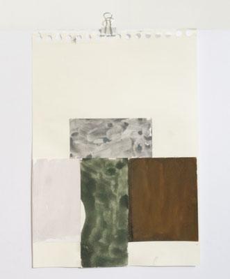 Sasha Pichushkin, Collage VII, 20 x 30 cm, Galerie SEHR Koblenz