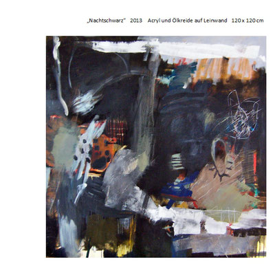 Evelyne Knobling in der Galerie SEHR 2014