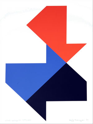 of 77 nr.: 7/15 e.d.a., 1974  Serigraphie, 50 x 70 cm. Preis:  400€ plus Versandkosten 9,50€