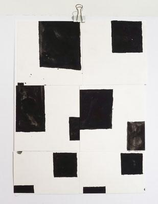 Sasha Pichushkin, Collage XXIV, 20 x 30 cm, Galerie SEHR Koblenz