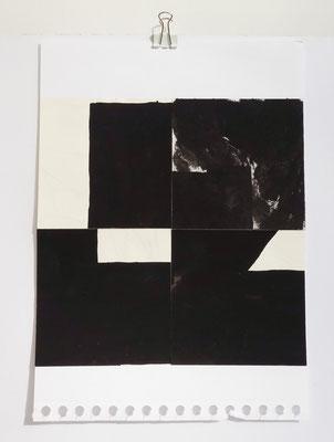 Sasha Pichushkin, Collage XXII, 20 x 30 cm, Galerie SEHR Koblenz