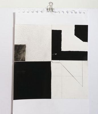 Sasha Pichushkin, CollageXIII, 20 x 30 cm, Galerie SEHR Koblenz