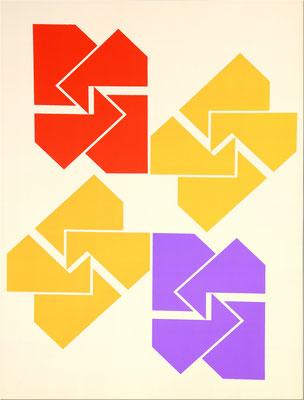 of 31 nr.: 17/50, 1970 61 x 43 cm  Serigraphie, 61 x 43 cm.  Preis:  400€ plus Versandkosten 9,50€