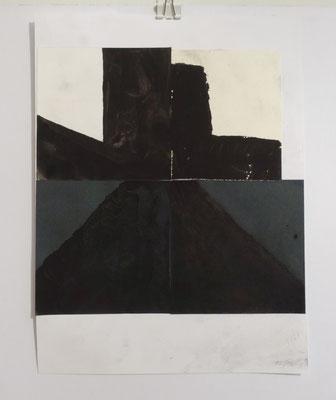 Sasha Pichushkin, Collage XXV, 20 x 30 cm, Galerie SEHR Koblenz