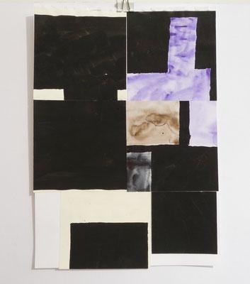 Sasha Pichushkin, Collage XVIII, 20 x 30 cm, Galerie SEHR Koblenz