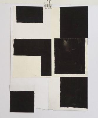 Sasha Pichushkin, CollageXXVI, 20 x 30 cm, Galerie SEHR Koblenz