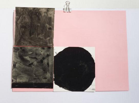 Sasha Pichushkin, Collage XII, 20 x 30 cm, Galerie SEHR Koblenz
