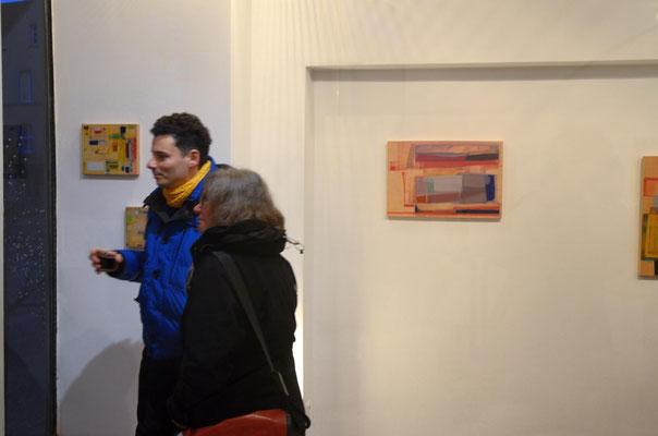 Anne Schreiber in der Galerie SEHR Museumsnacht Koblenz 2018