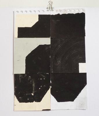 Sasha Pichushkin, Collage VIII, 20 x 30 cm, Galerie SEHR Koblenz