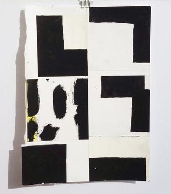 Sasha Pichushkin, Collage I, 20 x 30 cm, Galerie SEHR Koblenz